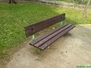 Renovace laviček a stolků